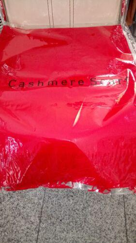 Kaschmir Cashmere,Wolle neu verschiedene Farben Kuscheliger Schal Viskose