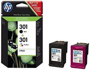 Original-HP-301-Combo-Pack-1x-HP-301-Negro-1x-HP-301-Color-N9J72AE-Nuevo-CR340
