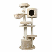 Cat Tree Trees Scratching Post Tower Condo House Furniture Pole Activity Wood