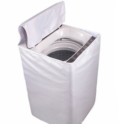Washing Machine Cover Laundry Dryer Protect Cover Dustproof Waterproof Sunscreen