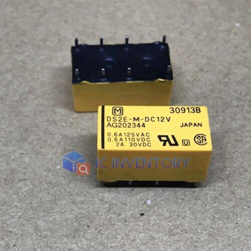 1PCS PANASONIC DS2E-M-DC12V DIP-8 HIGHLY SENSITIVE 1500 V FCC SURGE WITHSTANDING
