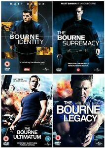 Jason-Bourne-Series-1-4-Complete-Movie-1-2-3-4-Collection-New-UK-Region-2-DVD