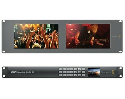 Blackmagic ATEM Production Studio 4K w/ Smartview Duo SWATEMPSW4K + HDL-SMTVDUO