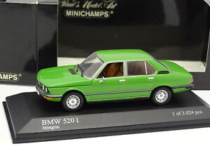 Minichamps-1-43-BMW-520-I-E12-Verte