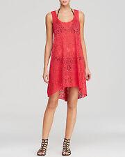 Profine by Gottex Azalea Tutti Frutti Crochet Cover Up Sz 2X Dress (K17)