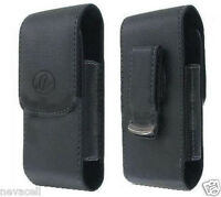 Leather Case Pouch For Tracfone Lg 840g Lg840g,straight Talk Lg Optimus Logic