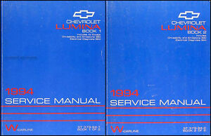 1994-Chevy-Lumina-and-Euro-Z34-Repair-Shop-Manual-Set-94-Chevrolet-Service-OEM