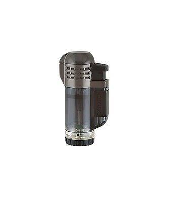 XIKAR Tech Triple Torch Flame Cigar Lighter Black 527BK