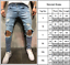 Men-039-s-Ripped-Skinny-Jeans-Stretch-Destroyed-Frayed-Slim-Fit-Denim-Pants-Trousers thumbnail 6