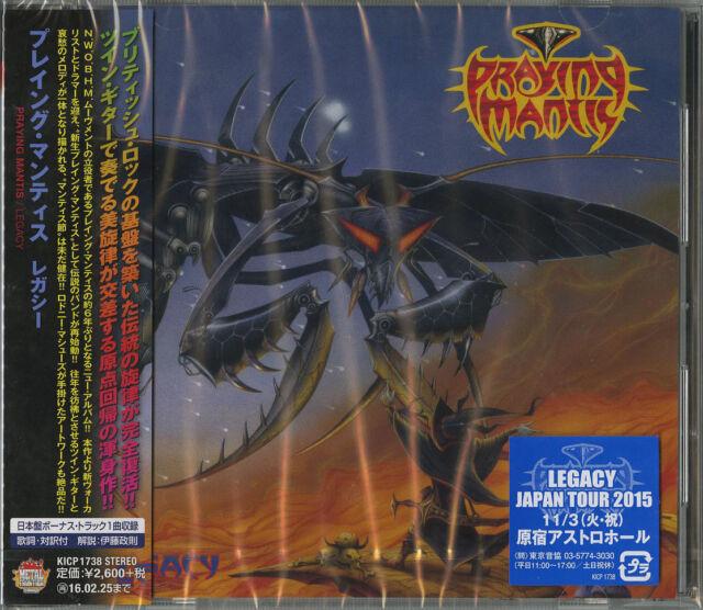 PRAYING MANTIS-LEGACY-JAPAN CD BONUS TRACK F83