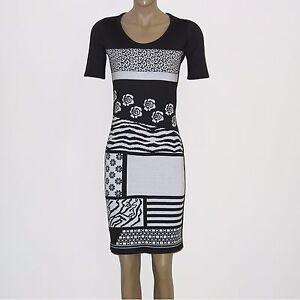 Sommerkleid schwarz 44