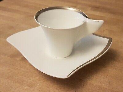 Villeroy /& Boch NewWave Premium Platinum Kaffeetasse 2 Tlg.