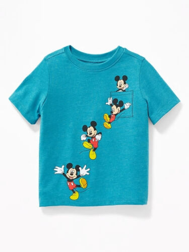 NWOT Old Navy Disney Mickey Mouse Graphic Tee Tees T-Shirt Shirt NEW Boys 4 4T