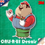 Famous FAT Series Mario Mushroom Pipe Sticker Car Wall  Luggage 3M Film 100mm