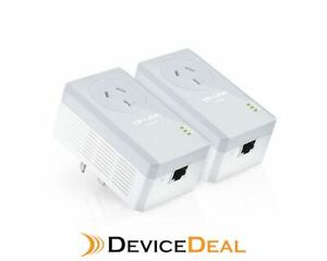 TP-LINK-TL-PA4010PKIT-AV500-Powerline-Adapter-with-AC-Pass-Through-Starter-Kit
