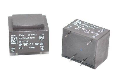 Print-Transformer//Transformer For Valve Type BV EI 303 3356 42 V//18 V 1.8 VA