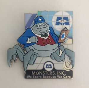Details about DISNEY PIXAR PARTY PIN EVENT PIXAR VILLAINS MONSTERS, INC   MR  WATERNOOSE LE 300