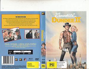 Crocodile Dundee 2 1988 Paul Hogan Movie Dvd Ebay