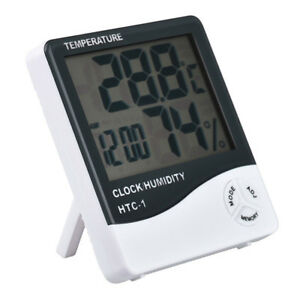 Food Thermometers New Digital LCD Thermometer Hygrometer Electronic Temperature Humidity Meter