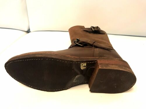 Bottes homme Perfecto by Schott FT 1628 Cuir Marron