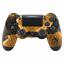 PS4-Controller-Cover-Case-Huelle-Gehaeuse-Front-Gold-Dragon-Slim-Pro-JDM-040 Indexbild 1