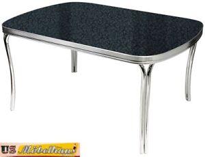 Tavolo Cucina Retro.Dettagli Su To27a Bel Air Diner Tavolo Da Cucina Pranzo Anni Cinquanta Stile Retro 50er Noi