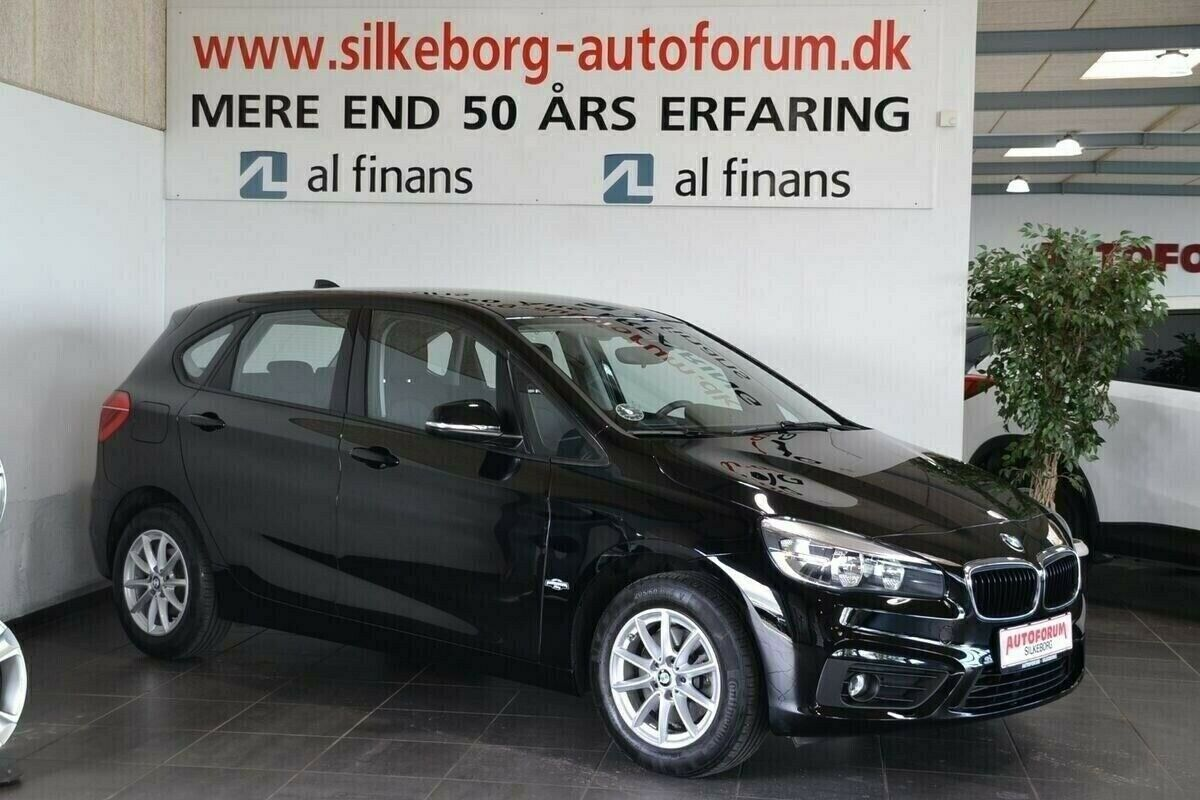 BMW 220d 2,0 Active Tourer Advantage aut. 5d - 244.900 kr.