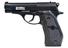 Swiss Arms P84 Full Metal CO2 Pistol 412 fps CO2 BB Gun - 0.177 cal