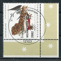 Bund Mi-Nr 2285  Ecke 4  (51+26) -Weihnachten- ESST Berlin 2002