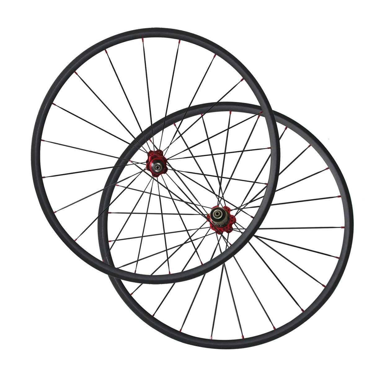 700C 24mm Clincher carbon road bike wheels    23mm rim width  wholesape cheap