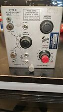 Tektronix Type B Plug In Unit Wide Band Calibrated Preamp Untested Estate Find