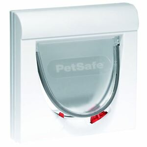 PetSafe-Staywell-Magnetic-Cat-Flap-Pet-Door-with-Collar-Magnet-Entry-amp-Locking