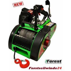 Forstseilwinde-Seilwinde-VF-155-Docma-Benzinwinde-NEU2016-17-SOLO-Motor
