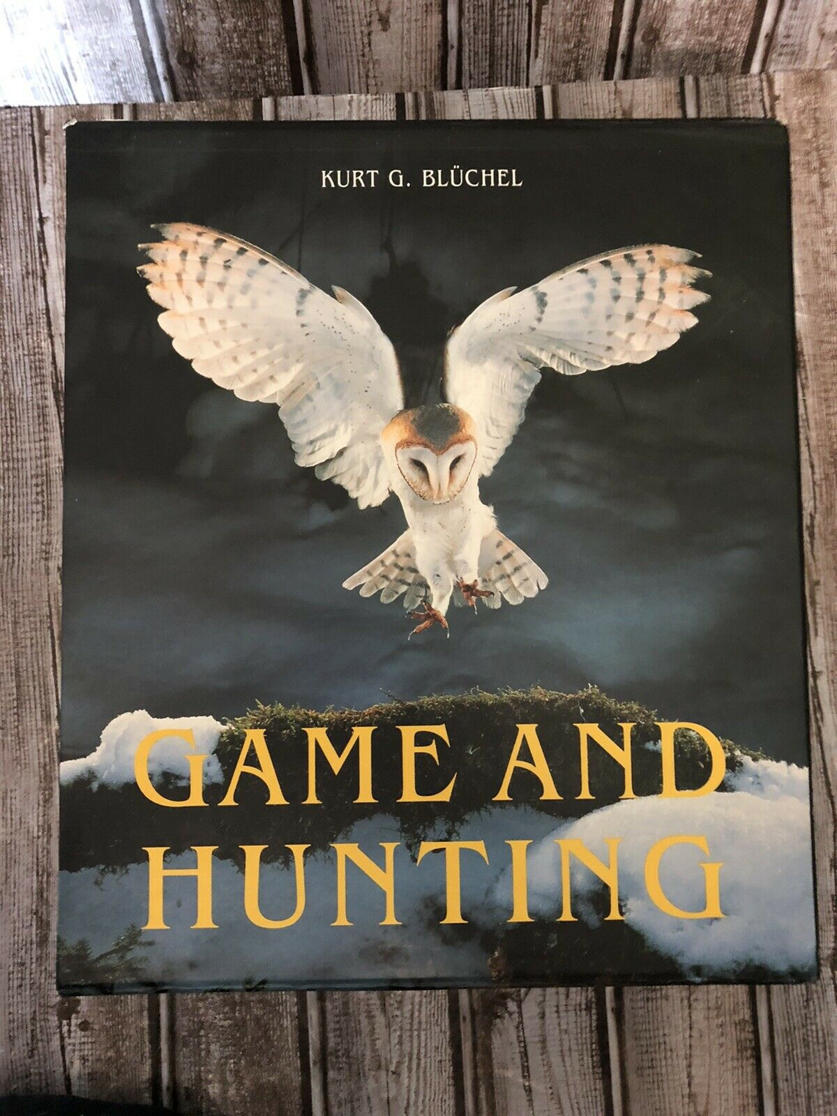for sale online Game and Hunting by Kurt G Bluchel 1997, Hardcover