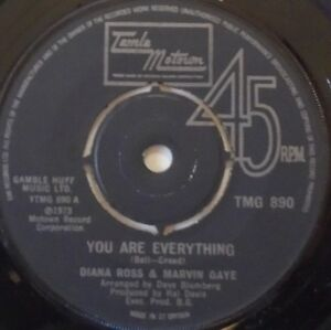 DIANA-ROSS-amp-MARVIN-GAYE-You-Are-Everything-7-034-Single