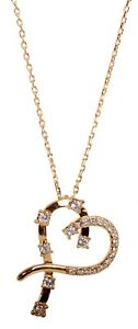 Swarovski-Elements-Crystal-Heart-Pendant-Necklace-Gold-Plated-Authentic-7106Gu