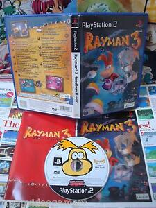 Playstation-2-PS2-Rayman-3-Hoodlum-Havoc-TOP-amp-1ERE-EDITION-COMPLET-UK