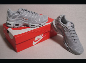 Wolf Grey Lands On The Nike Air Max Plus •