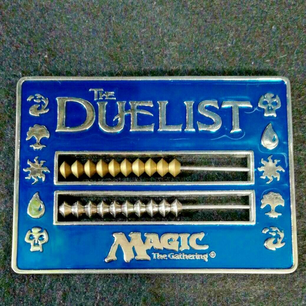 DUELIST Magic The Gathering Life Counter 9 x 6.5 cm bluee Lotus Card Game Japan
