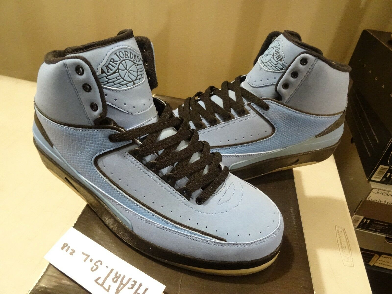 2010 Nike Air Jordan 2 II Retro QF University bluee Candy Pack 395709-401 SZ 11