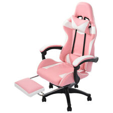 High Back Swivel Chair Pc Gaming Chair Office Desk Chair Adjustable With Footrest