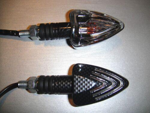 ►4X HALOGEN CARBON SHARK MINIBLINKER BUELL RSS1200//RS//RR,Ulysses XB12X,XB12Scg