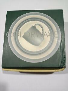 Noritake Colorwave Curve 4-Piece Place Setting - Slate