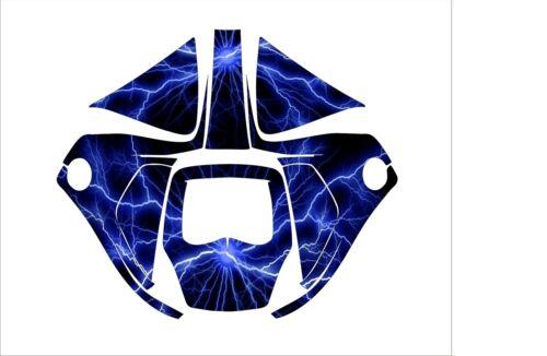 3M SPEEDGLAS 9100 V X XX AUTO SW blue WELDING HELMET WRAP DECAL STICKER SKINS lg