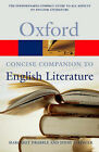 The Concise Oxford Companion to English Literature by Oxford University Press (Paperback, 2003)