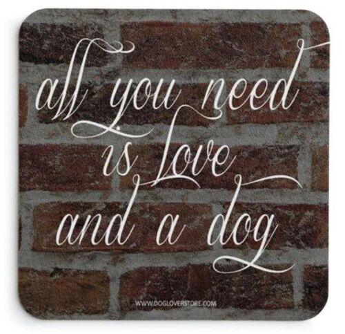 Shih Tzu Wood Dog Sign Wall Plaque 5 x 10 Puppy Cut Bonus Coaster