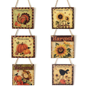 Thanksgiving-Welcome-Wooden-Boards-Fall-Autumn-Harvest-Square-Hanging-Sign-Decor