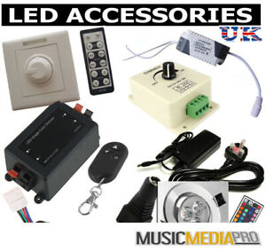 LED-strips-connectors-controller-distributors-cables-dimmers-LED-Lights