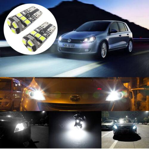 For Transporter T5 03-16 XENON White LED Side Light Bulbs Canbus Error Free
