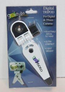 NEW-Go-In-Style-Digital-Tripod-For-Digital-amp-35mm-Camera-w-Socket-Ultra-Compact